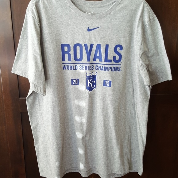 hot sale online a4ec2 ae149 Kansas City Royals 2015 Nike World Series Champs T